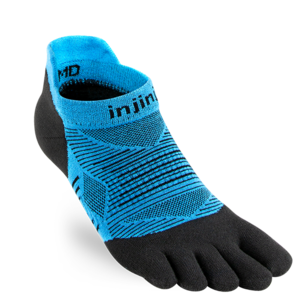 Injinji Run Lightweight No-Show Coolmax Malibu