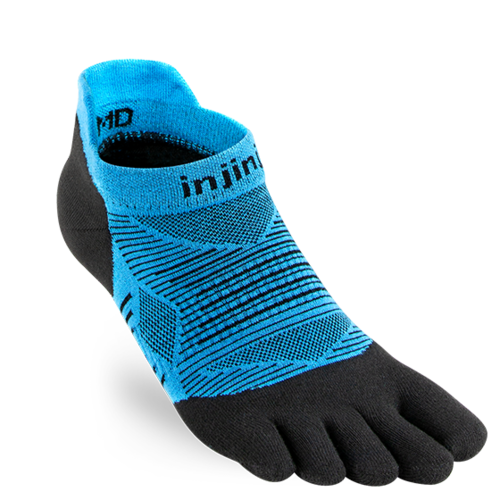 Injinji Run Lightweight No-Show Coolmax Malibu