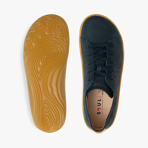 Vivobarefoot Addis Ladies Leather Navy