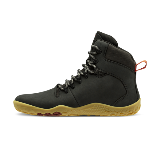 Vivobarefoot Tracker II FG Ladies Leather Obsidian
