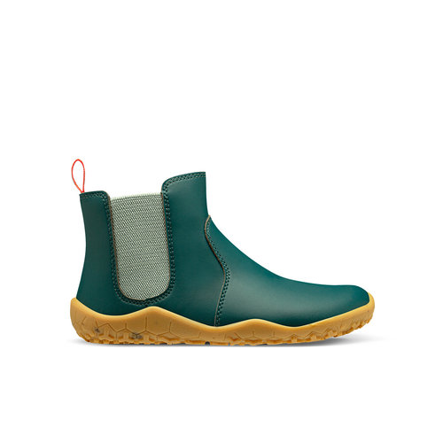 Vivobarefoot Fulham Rubber II Little Forest Folk Kids Dark Blue