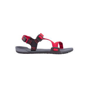 Xero Shoes Z-Trail Kids Charcoal / Red Pepper