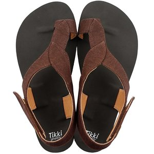 Tikki Soul Sandal Vegan Chocolate