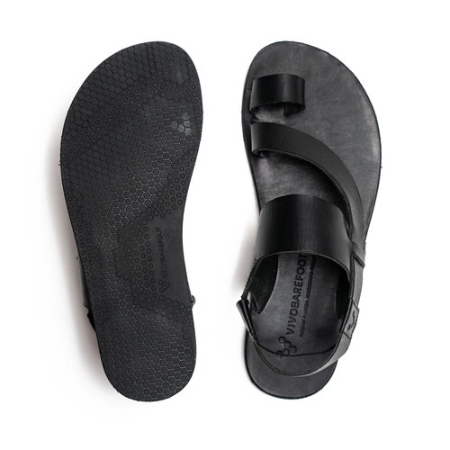 Vivobarefoot Kuru II Ladies Leather Black