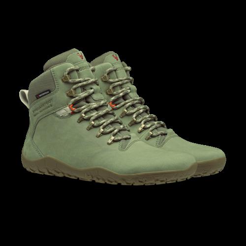 Vivobarefoot Tracker II FG Men Leather Botanical Green