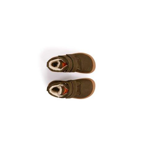 Koel4Kids Dan Bio Nubuk Wool Khaki (07M005.212-350)