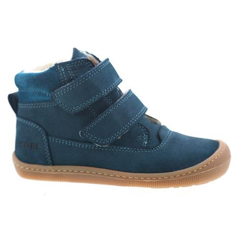 Koel4Kids Dan Bio Nubuk Wool Turquoise (07M005.212-130)