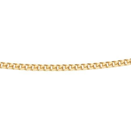 gourmet collier - Ø 1,6 mm. - geelgoud