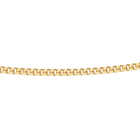 Gourmette chain - Ø 1,4 mm. - yellow gold