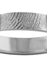 Ring 4 mm. met vingerafdruk
