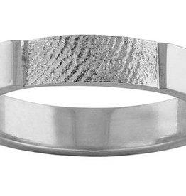 Ring 4 mm. incl. vingerafdruk