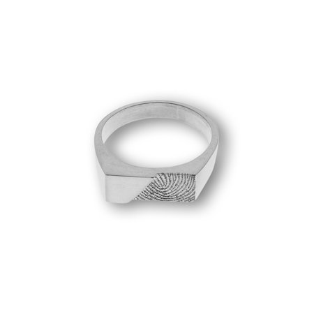 Bague sigillaire, rectangle