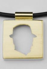 Quadrat groß, offenes Profil mit Rand