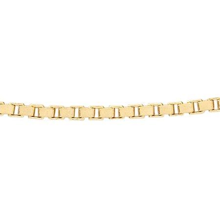 Venetiaans collier - Ø 1,4 mm. - geelgoud
