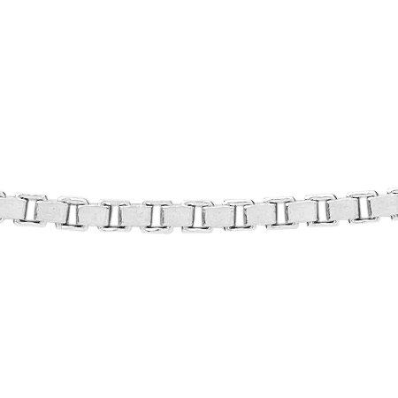 Venetiaans collier - Ø 1,5 mm. - zilver