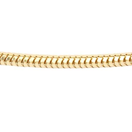 Maille serpent - Ø 1,4 mm. - argent