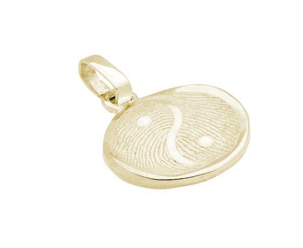 Yin Yang pendant, vaulted
