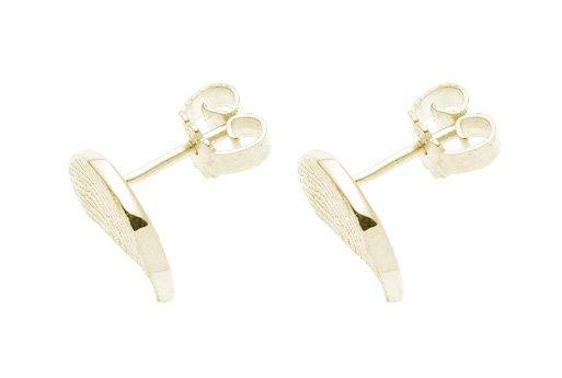 Boucles d'oreilles, demi rond