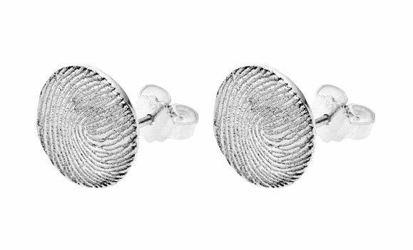 Earrings, round