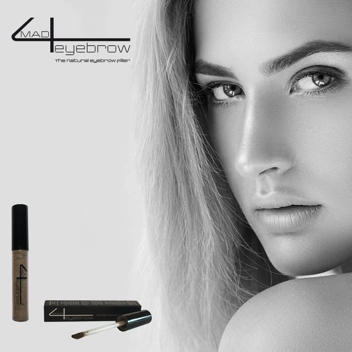 "mad4eyebrow ""Mid-brown"" the natural eyebrow filler"