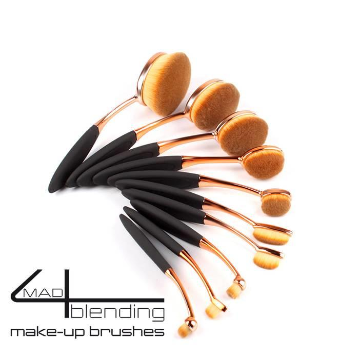 Mad4blending 10 delige set Make-up brushes