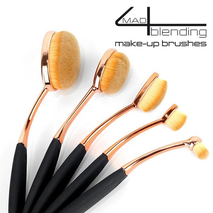Mad4blending 5 delige set Make-up brushes