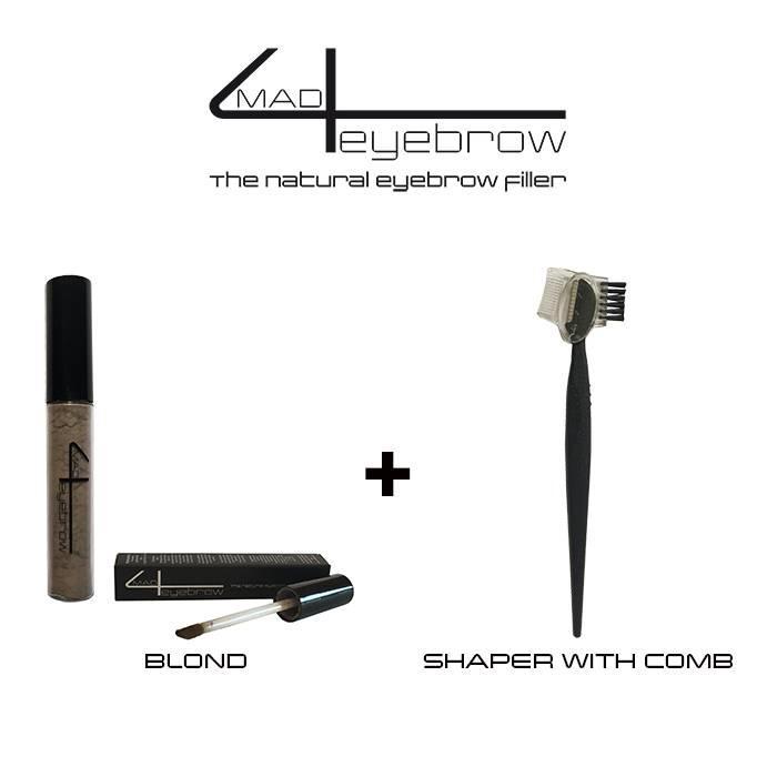 aanbieding made4eyebrow eyebrow filler + shaper with comb