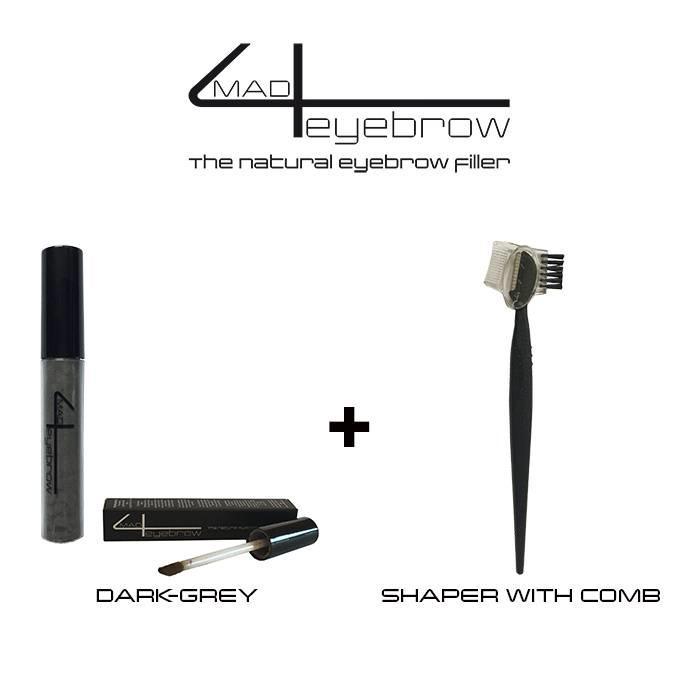 made4eyebrow eyebrow filler + shaper with comb