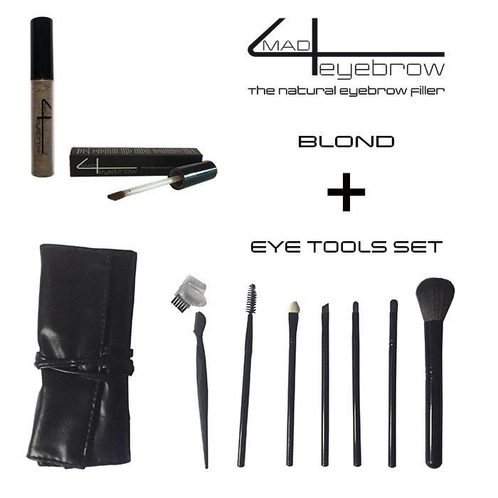 aanbieding made4eyebrow eyebrow filler + eye tools set