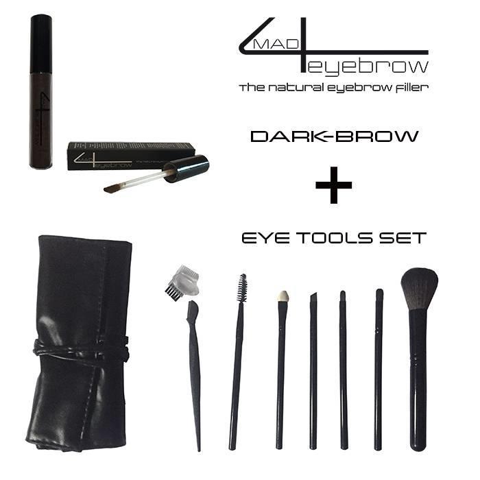 angebot mad4eyebrow eyebrow filler + eye tools set