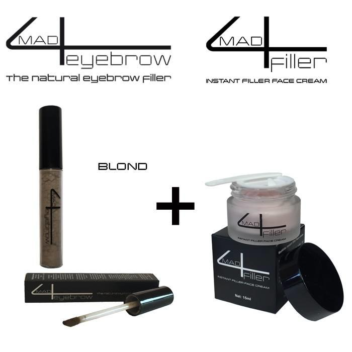 angebot mad4eyebrow + mad4filler