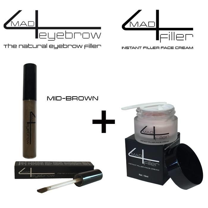Blond mad4eyebrow + mad4filler