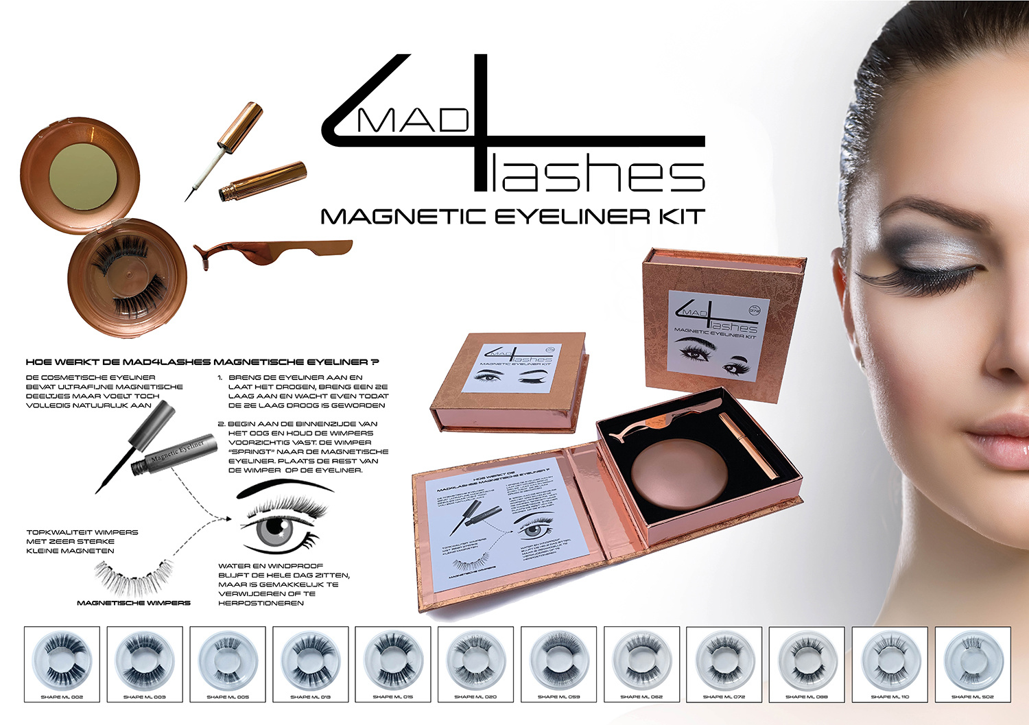 mad4lashes magnetic eyeliner kt