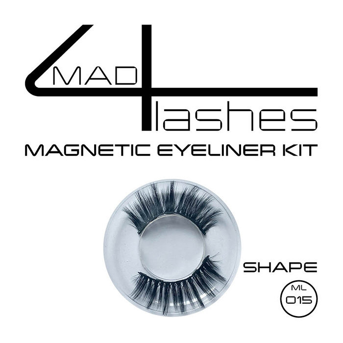 mad4lashes magnetic eyeliner kit - Shapes ML 002 - 003 - 005 - 013 - 015 - 020