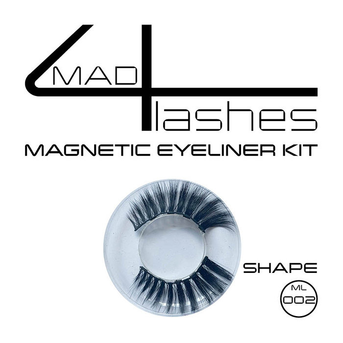Mad4lashes magnetic eyeliner kit shape ML 002