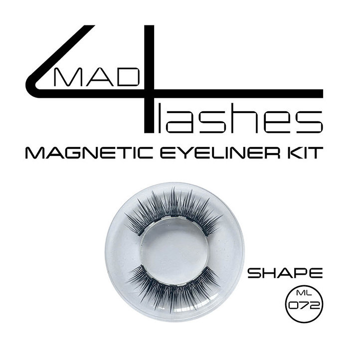 made4lashes magnetic eyeliner kit - Shapes ML 059 -  062 - 072 - 088 - 110  -S02