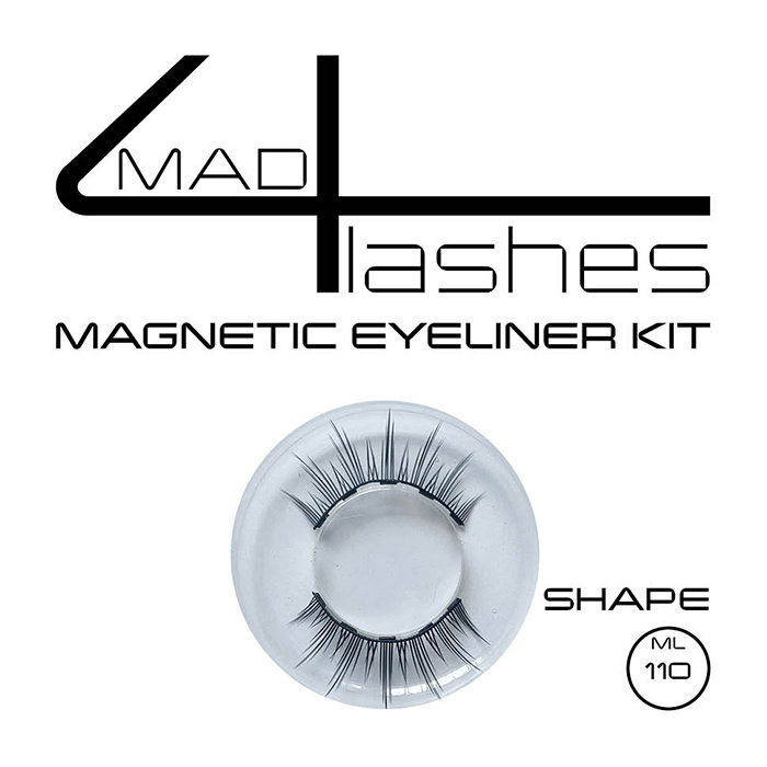 mad4lashes magnetic eyeliner kit - Shapes ML 059 -  062 - 072 - 088 - 110  -S02