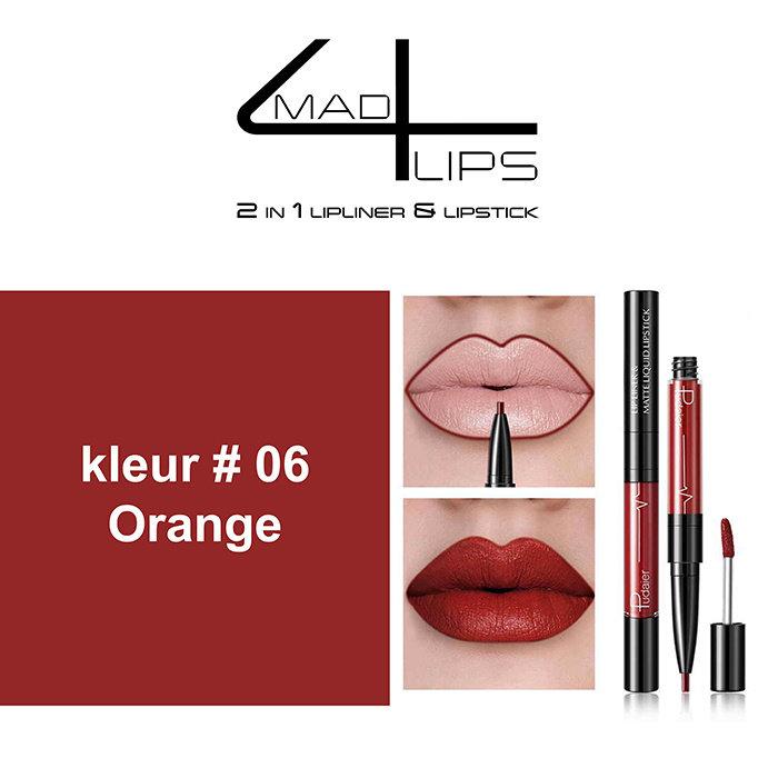 made4lips 2 in 1 lipliner & Lipstick in 9 prachtige kleuren