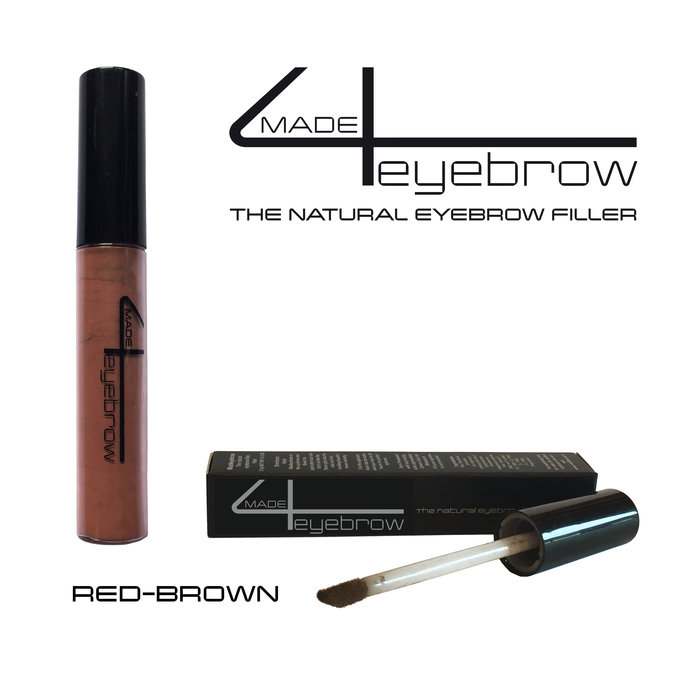 "made4eyebrow ""Red-Brown"" the natural eyebrow filler"