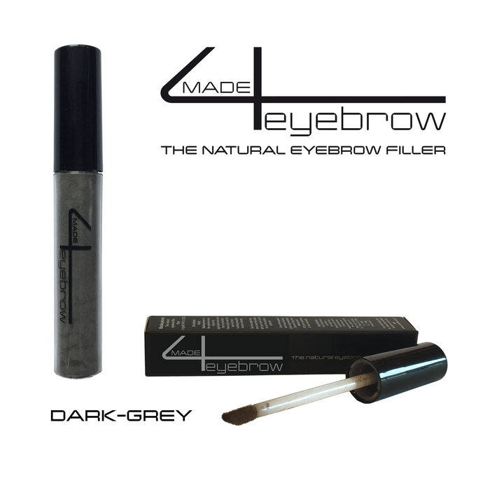 "made4eyebrow ""Dark Grey"" the natural eyebrow filler"