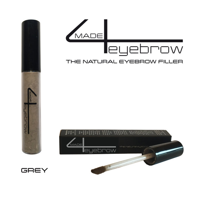 "made4eyebrow ""Grey"" the natural eyebrow filler"