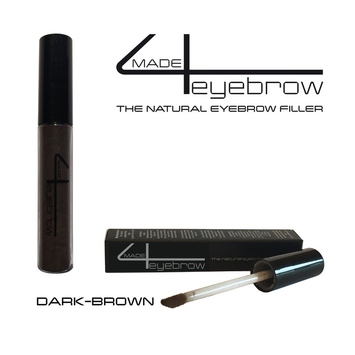 "made4eyebrow ""Dark-Brown"" the natural eyebrow filler"