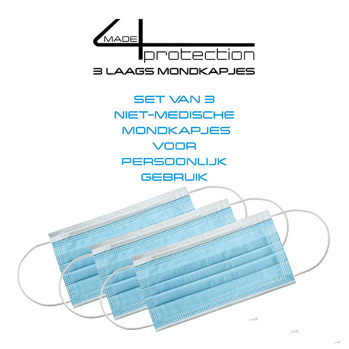 made4protection 3-laags mondkapjes