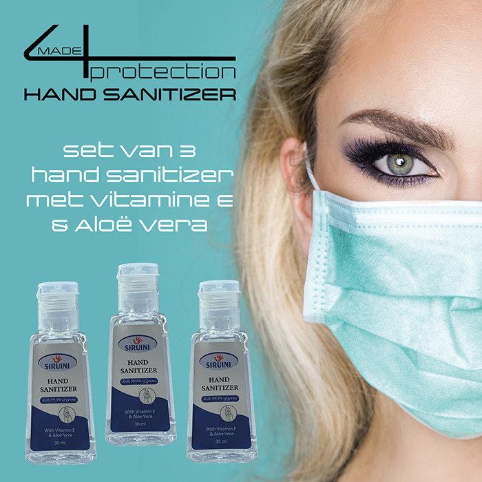 made4protection Hand sanitizer voor persoonlijke bescherming