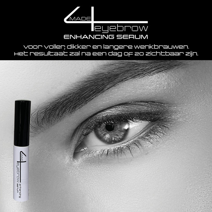 gift tip eyebrow and eyelash set DELUXE with made4lashes grow serum gift