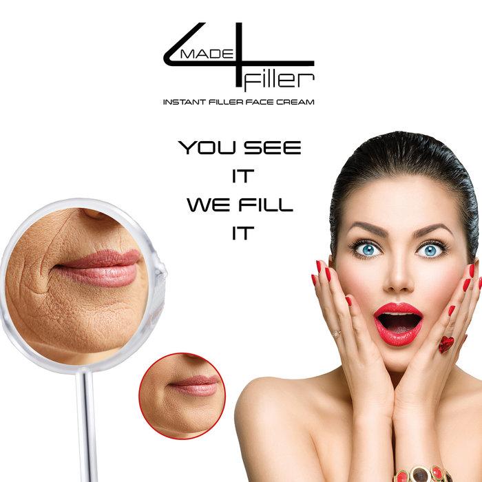 gift Tip anti wrinkle set with made4filler instant filler face cream gift