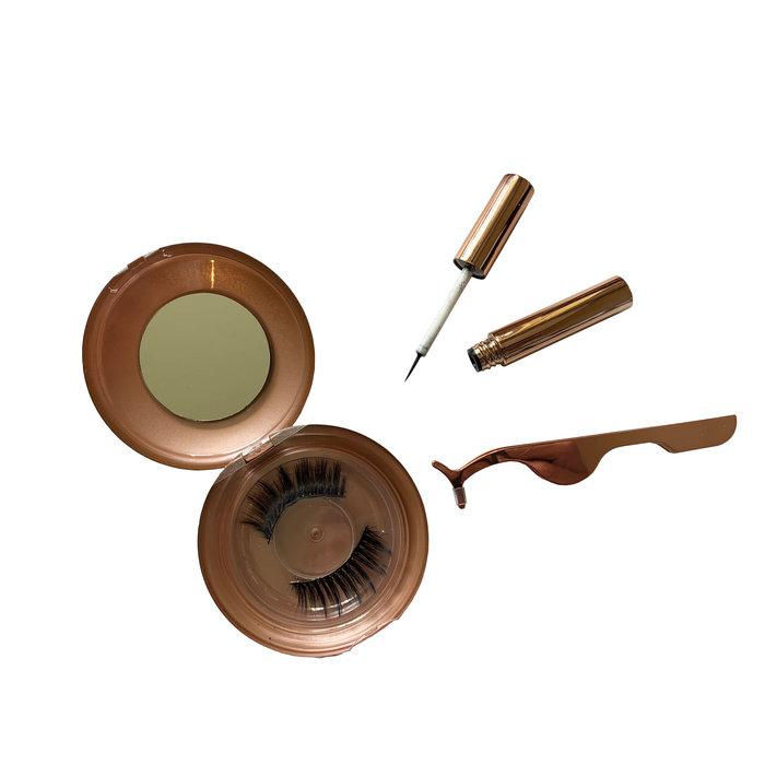cadeau tip wimper set met 2 magnetische wimper sets cadeau