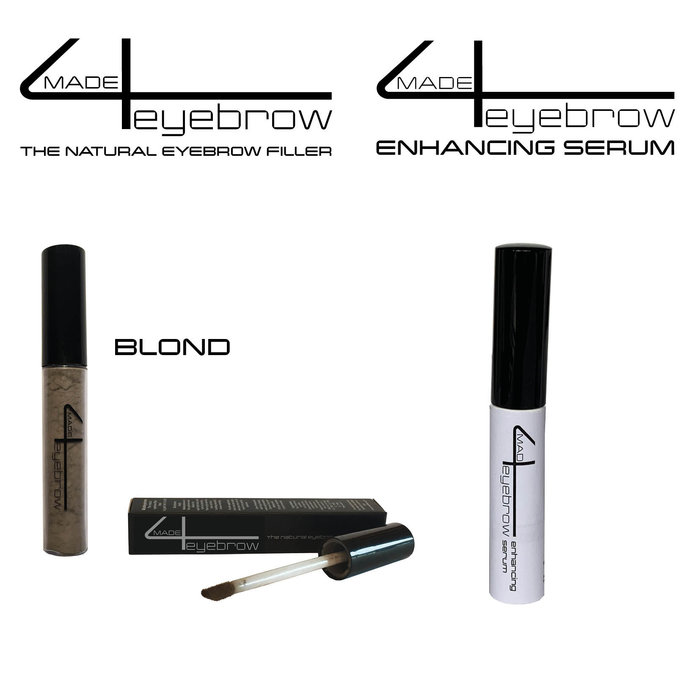 aanbieding Made4eyebrow The natural eyebrow filler +  Made4eyebrow Enhancing Serum
