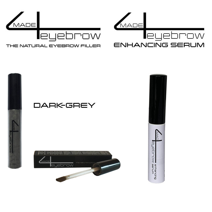 aanbieding made4eyebrow The natural eyebrow filler + Enhancing Serum