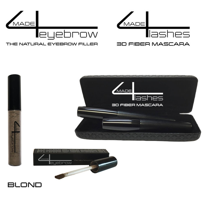 offer Made4eyebrow The Natural eyebrow filler + Made4lashes 3D fiber Mascara